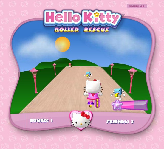 HelloKitty Roller Rescue 2 game